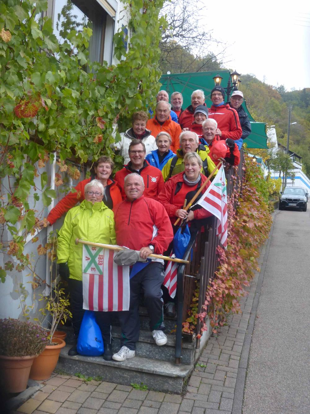 Gruppenfoto Wanderfahrt Lahn Okt_2017